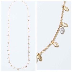 🎄3/$30 NWT Loft Tiny Leaf Necklace